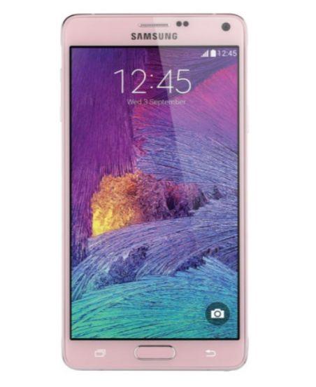 Samsung Galaxy Note 4, 3/32GB (розовый)
