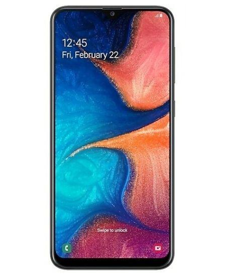 Samsung Galaxy A20, 3/32GB (черный)