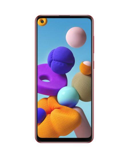 Samsung Galaxy A21s, 4/64GB (красный)