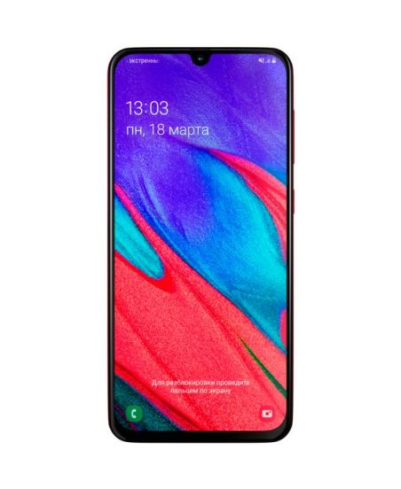 Samsung Galaxy A40, 4/64GB (красный)