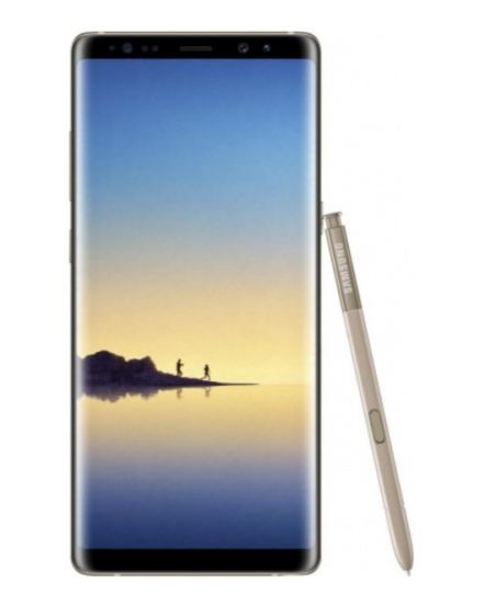 Samsung Galaxy Note 8 DUOS, 6/64GB (желтый топаз)