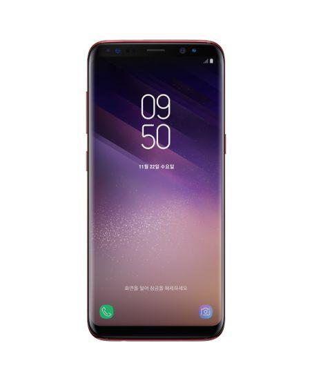 Samsung Galaxy S8, 4/64GB (королевский рубин)