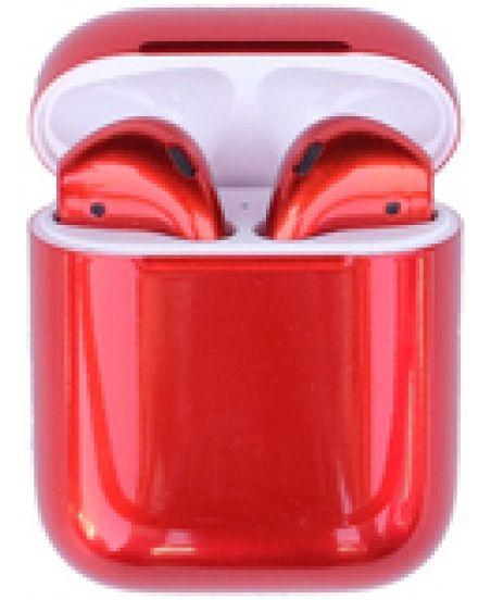 Наушники Apple AirPods 2 Color Red Gloss (красный глянец)