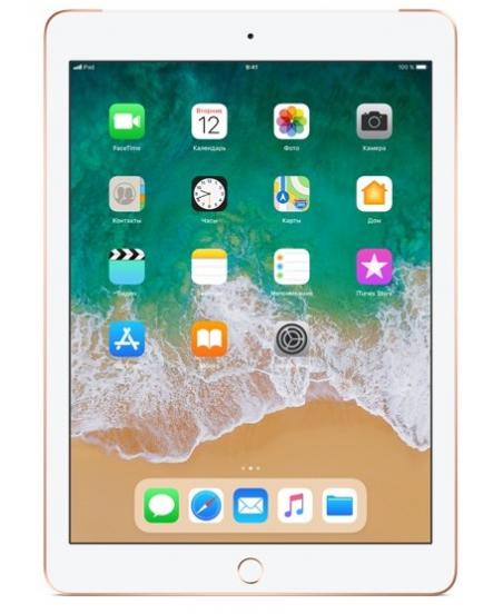 Apple iPad (2018) Wi-Fi + Cellular 32 ГБ, золотой