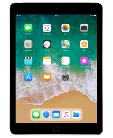 Apple iPad (2018) Wi-Fi + Cellular 128 ГБ, «серый космос»
