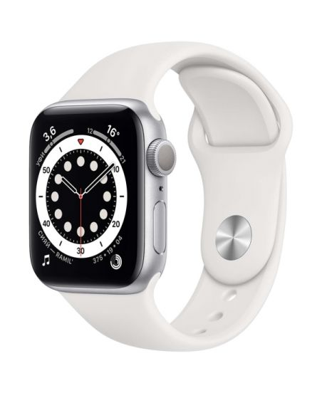 Apple Watch Series 6 (44 мм) Silver